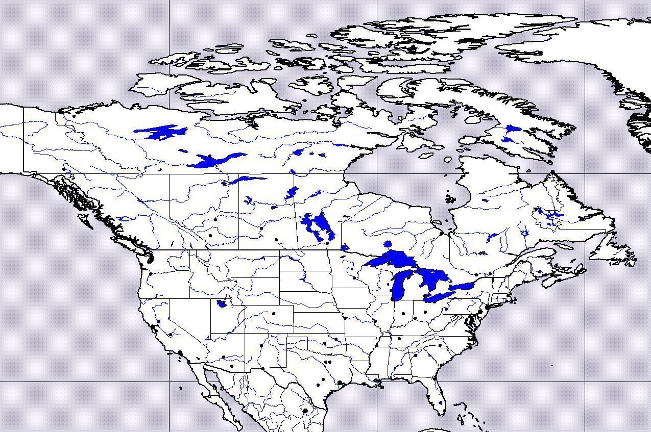 Zemepis com mapy slepé mapy slepá mapa kanady a usa viz také