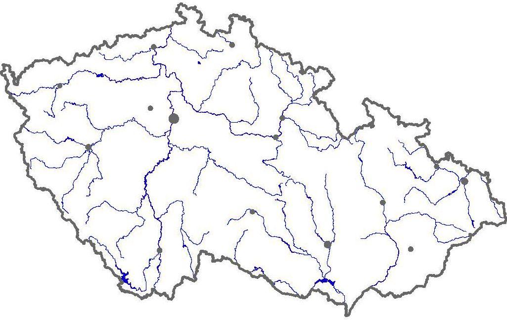 Mapa Mapa Cr Slepa