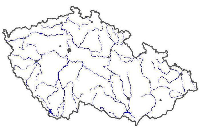 Pracovni List Jezera Rybniky A Prehrady